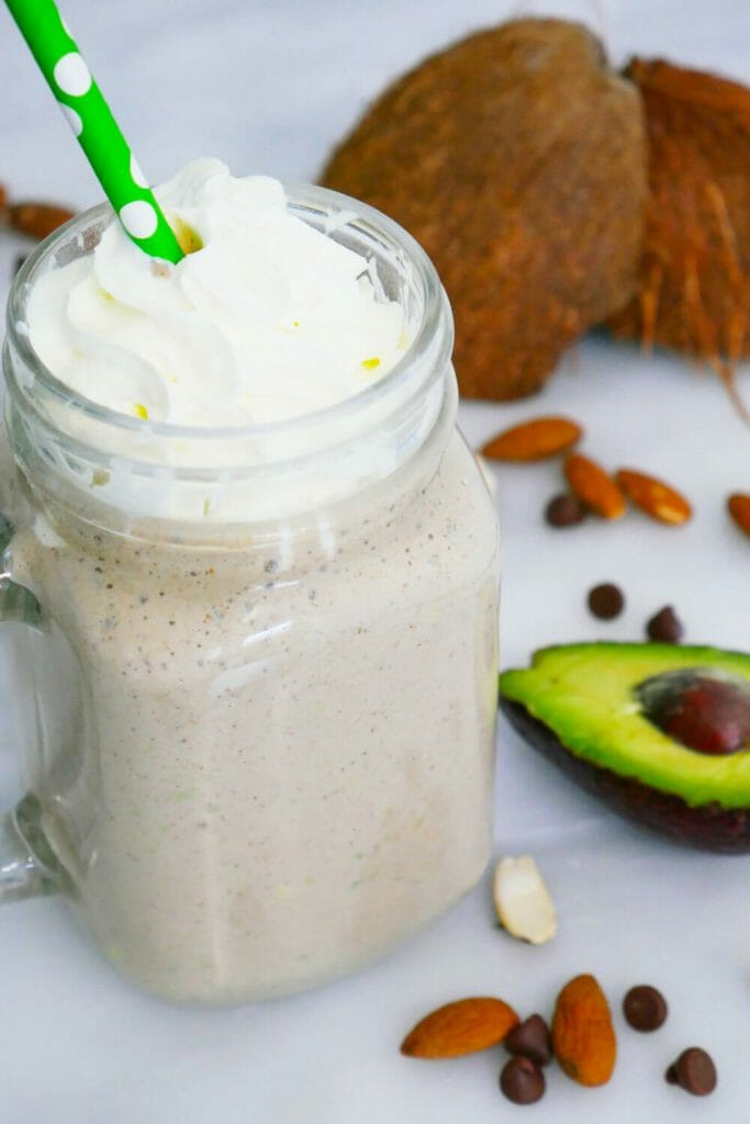 Cocoa almond butter chocolate smoothie Fat Bomb Secret Ingredients